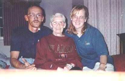 Dave, Granma, and Me